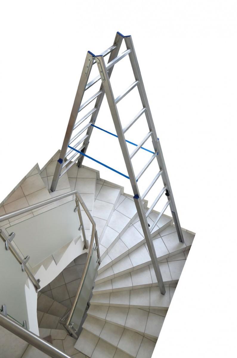 alu treppenhausleiter